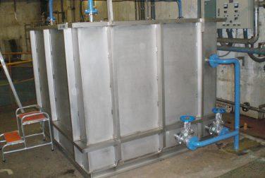油水分離槽 設計・製作・据付